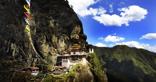 Visit Tigers Nest in Bhutan during your next Asia vacations.
