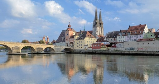Visit Regensburg Cathedral and explore its Gothic architecture on your next Germany tours.