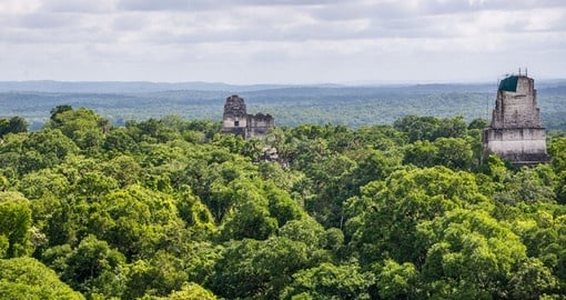 Explore Tikal National Park on your next trip to Guatemala.