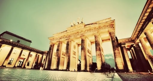 Brandenburg Gate is one of the most visited places on all Germany vacations.