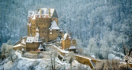 Burg Eltz near Koblenz on the upper Rhine is a highlight of your German vacation