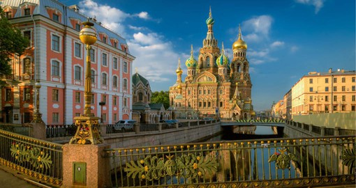 Russia's Imperial City, St. Petersburg was the showcase of the Romanovs dynasty