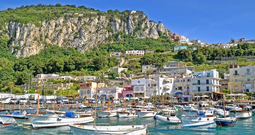 Spend a day exploring spectacular Capri on your Italy vacation