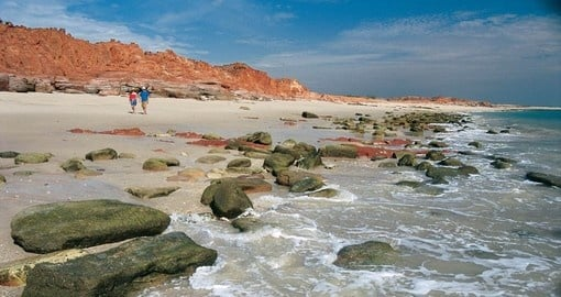Stunning coastal scenery at Cape Leveque is part of your Australia Vacation