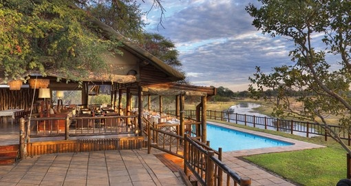 Experience staying at this beautiful Savute Elephant Lodge  on your next South Africa vacations.