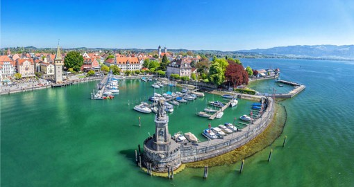 a visit to beautiful Lake Constance is a highlight of your German vacation package