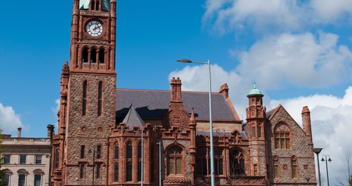Guildhall, Londonderry, Northern Ireland