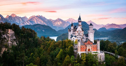 King Ludwig II started the first planning and preparations for Neuschwanstein Castle in 1867