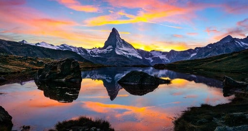 Iconic and indomitable, the Matterhorn