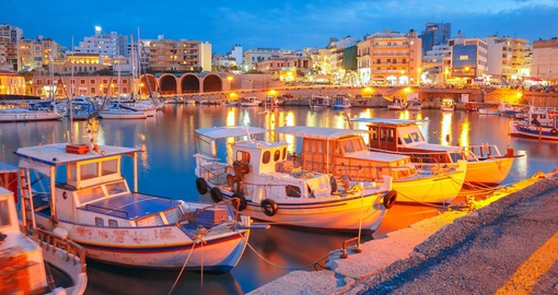 Explore this port city of Crete during your next Greece cruise.
