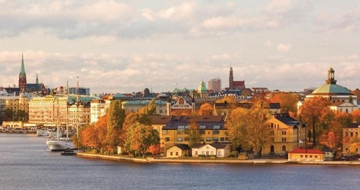 Stockholm is the starting point for your Self drive in Sweden
