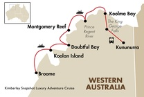 Kimberley Snapshot Luxury Adventure Cruise