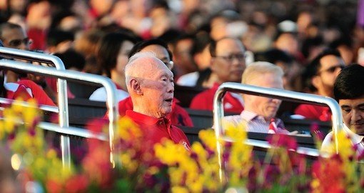Former Prime Minister Lee Kuan Yew is the founding father of modern Singapore