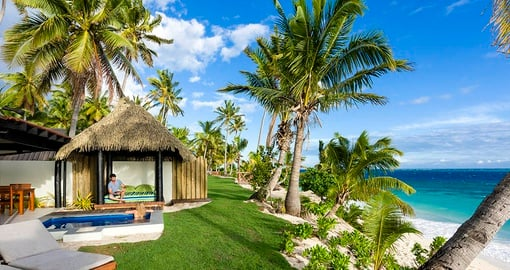 Relax in your Bure on your trip to Fiji