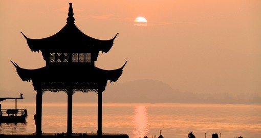 Experience West Lake Hangzhou on your next China Vacations.