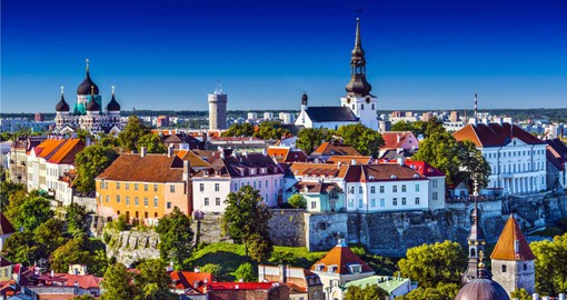Continue Tallinn, the first stop on your Estonia tours