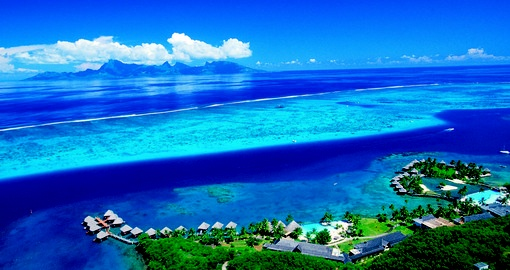 Once in a life time experience to see Tahiti from the air during your next Tahiti vacations.