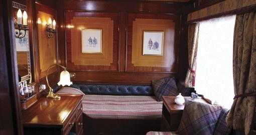 Royal Scotsman Twin Cabin