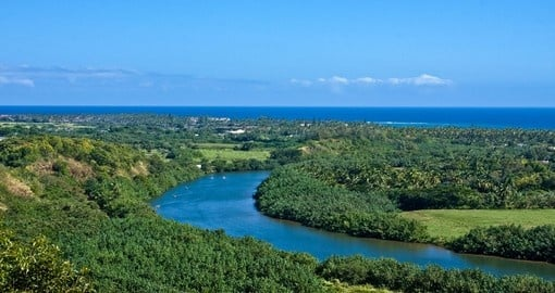 See the Wailua River during your Hawaii trip.