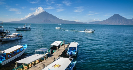 Experience Boat tour on Lake Atitlan during your next trip to Guatemala.