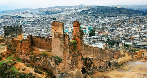 Discover Fez and explore its medieval architecture during your next trip to Morocco.