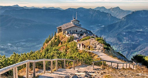 Visit The infamous Eagles Nest at Berchtesgaden on your German Vacation
