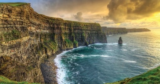 Your Ireland group tour will visit the cliffs of Moher