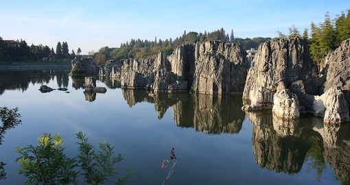 Enjoy the unique Kunimng Stone Forest on your China Tour