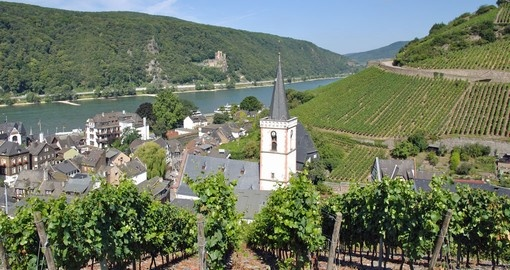 Explore this magical town Ruedesheim located in the Rhine Valley during your next Germany vacations.