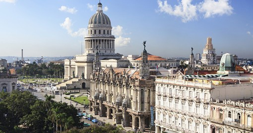 Capitolio and Grand Theater of Havana