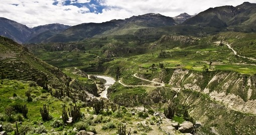 Explore the Colca Canyon River on your Peru Vacation