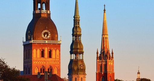The Spires of Riga