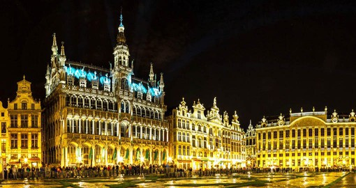 Begin your Belgium tour with a visit to the Grand Place, the focal point of Brussels