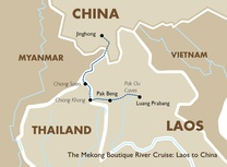 The Mekong Boutique River Cruise Laos to China