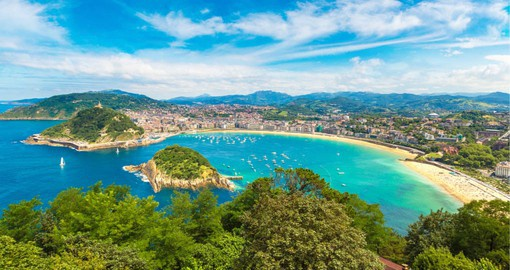 On the shores of the Bay of Biscay, San Sebastian has long been a favorite destination of the Spanish elite