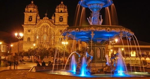 Plaza do Armas, Cusco is a must inclusion on all Peru tour