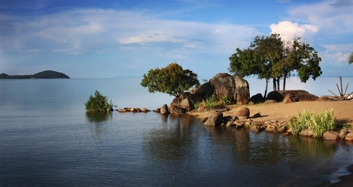 Your Malawi Vacation visits Lake Malawi, oone of the Great Lakes of the Rift Valley