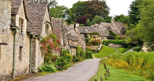 The Cotswolds capture the idyllic rural English landscape