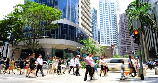 There are over 7,000 multinational corporations in Singapore