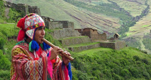 Learn the history of the Incas on your Peru Tours with a visit to the Sacred Valley