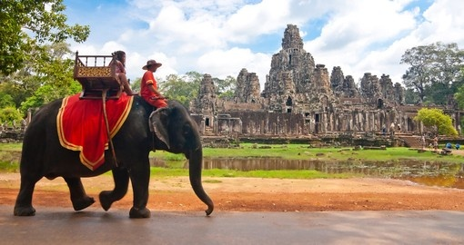 Enjoy Angkor Wat on your Cambodia Tour