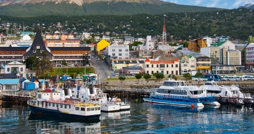 Tierra del Fuego Harbour is a must inclusion for your Ushuaia tour