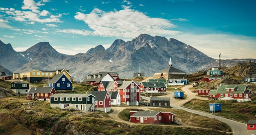 Sparsely populated Greenland is the world's largest island