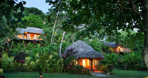 Escape to your own private Bure on your Fiji Vacation