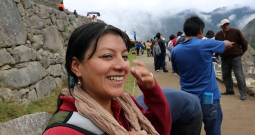 Guided tour of Machu Picchu