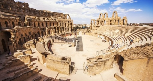 Largest Colosseum in North Africa