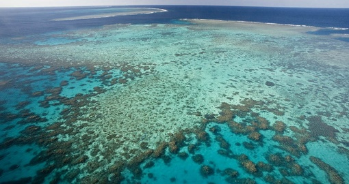 Cruise and fly over the Great Barrier Reef on your Australia Vacation