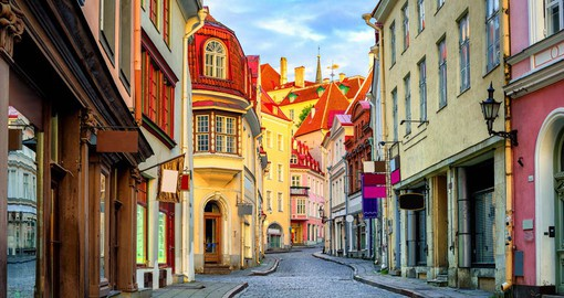 Discover Tallinn's charming and perfectly preserved old town