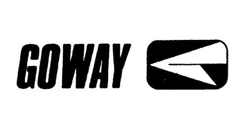 "Goway's first logo. The flying ""G"" is still used today"