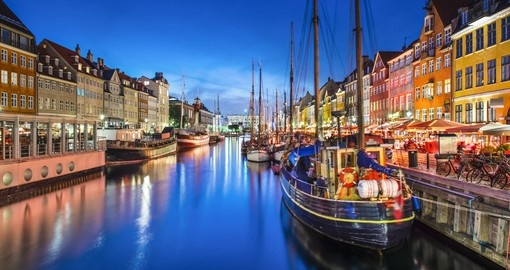 Tour colourful Copenhagen on your Denmark Tour